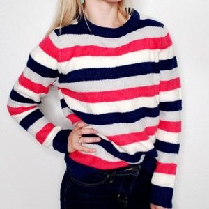 Brave Soul London Chunky Wide Striped Sweater 061